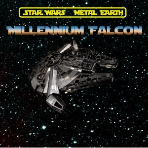 Metal Earth Millenium Falcon 11
