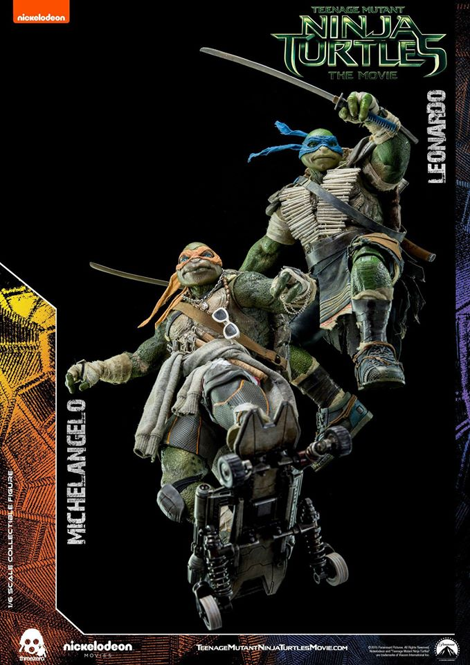 Threezero Announces TMNT Leonardo and Michelangelo Pre-orders