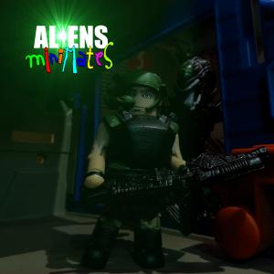 Aliens Minimates Drake Title 14