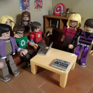 Big Bang Theory Minimates 20 Title