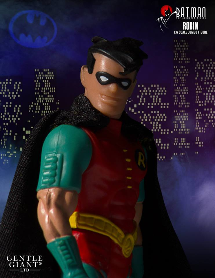 "Batman The Animated Series jumbo kenner 12/"" Action Figure Robin-Gentle Giant"