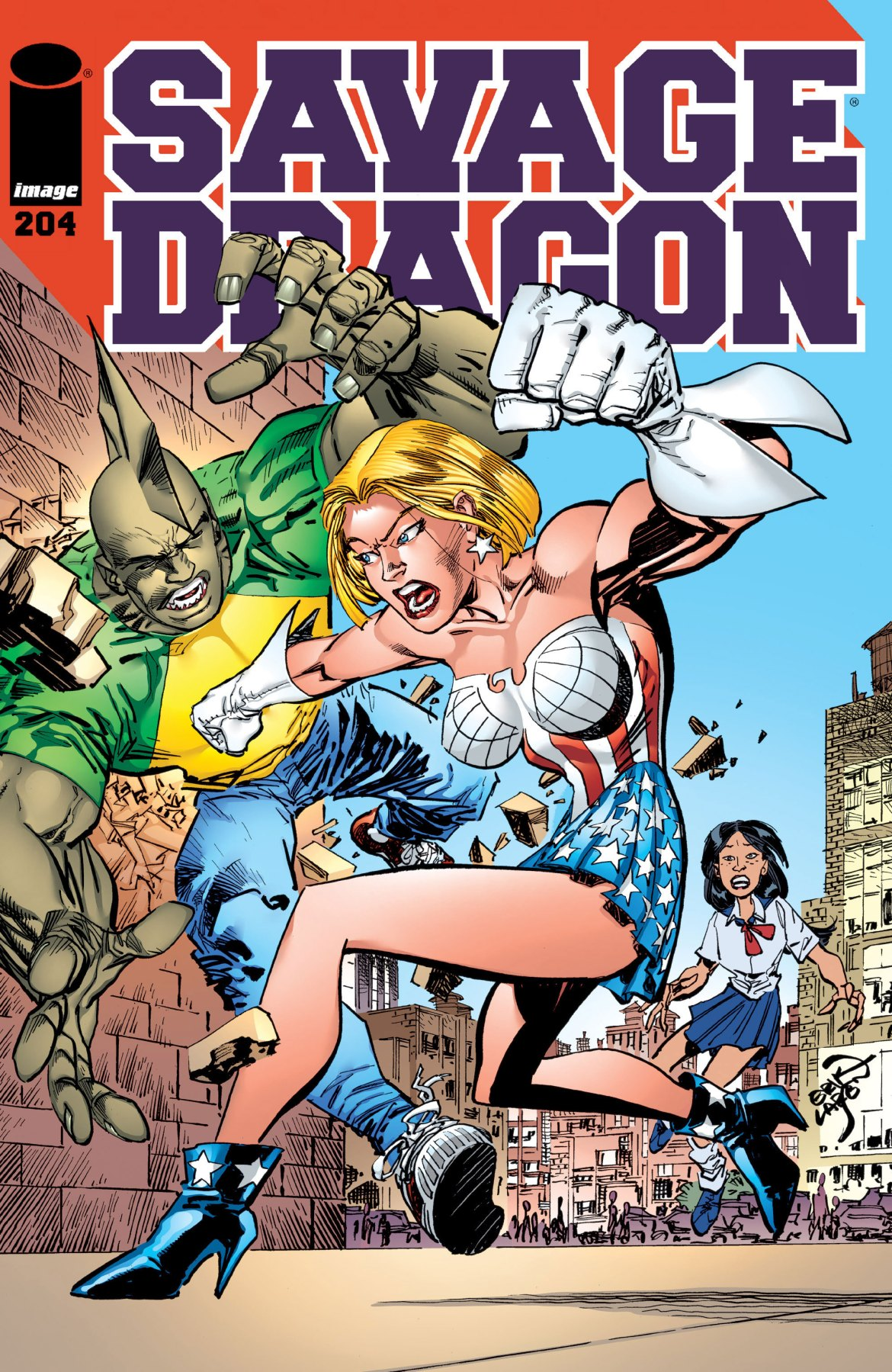 Review: Savage Dragon #204