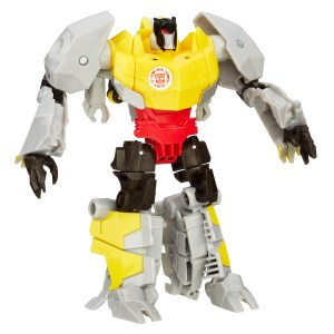 Warrior Gold Armor Grimlock Robot