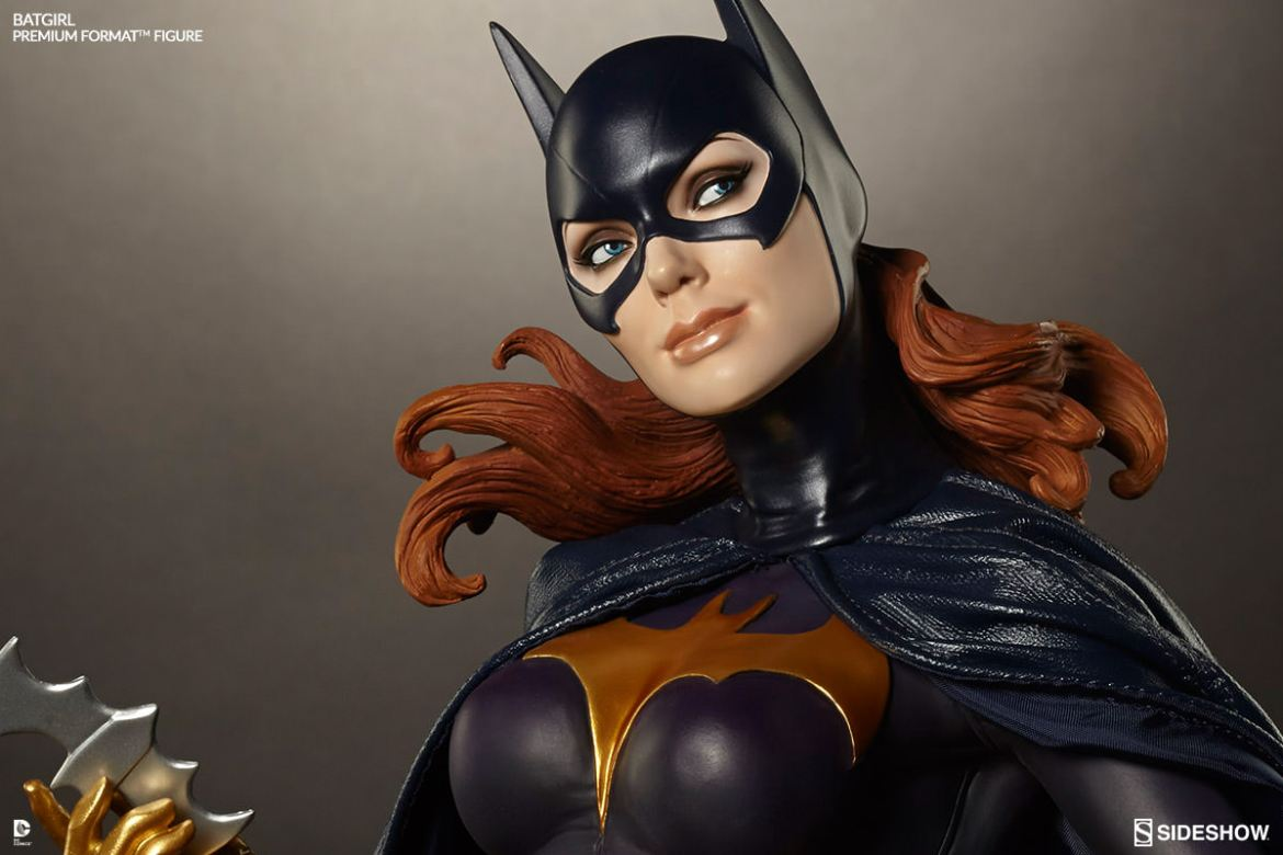 Batgirl Premium Format Figure by Sideshow Collectibles- New Images