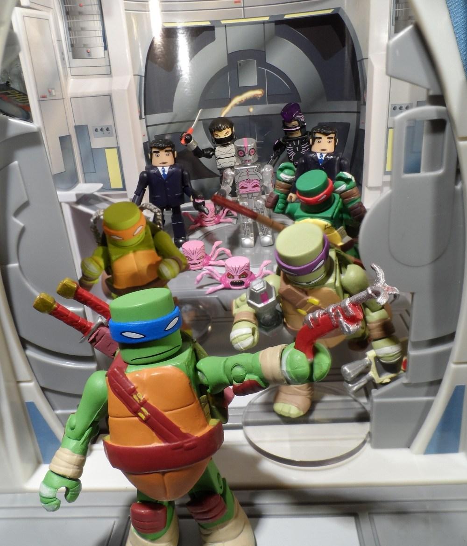 Teenage Mutant Ninja Turtles Minimates Series 2