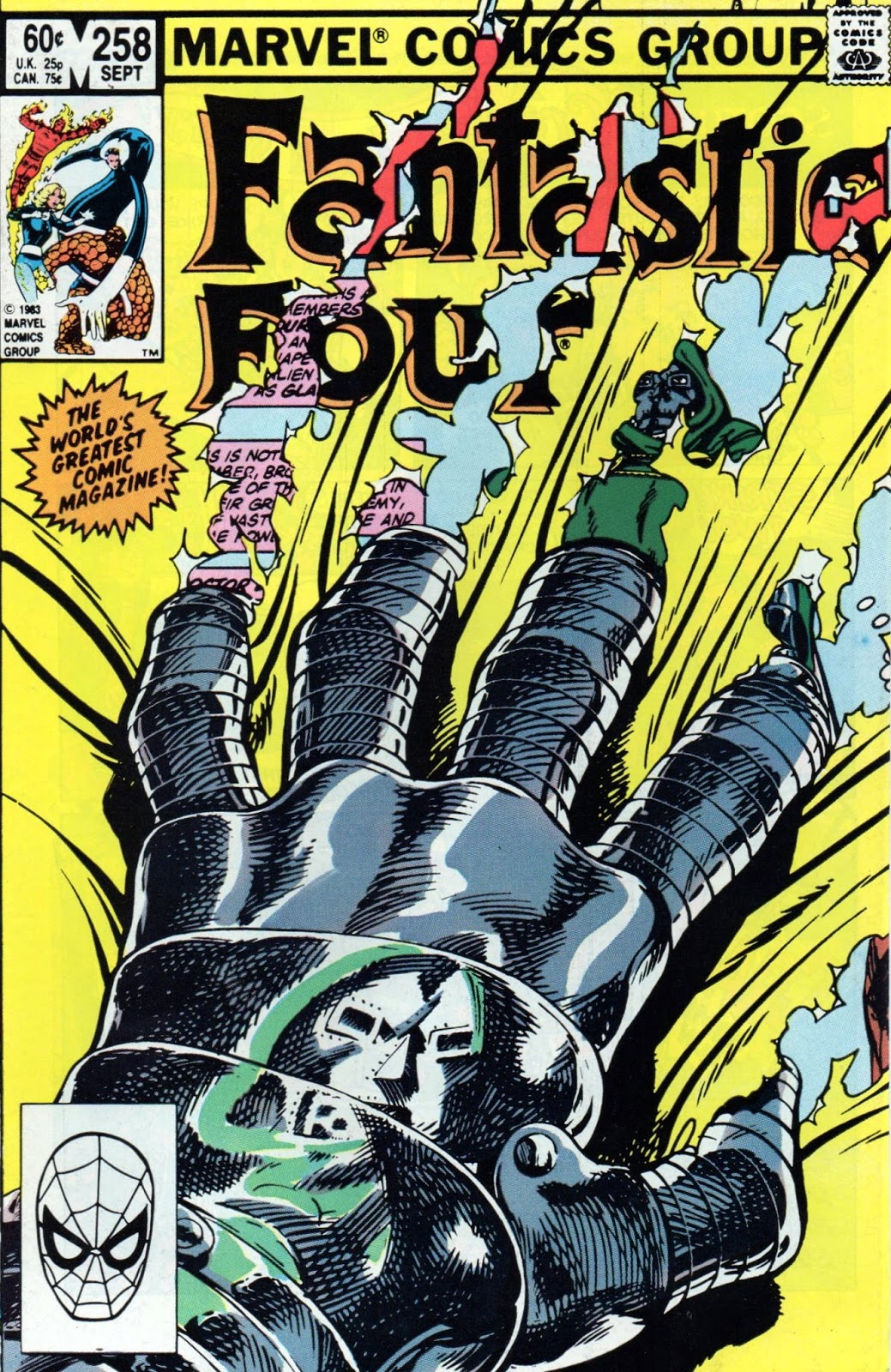 Fantastic Four 258: Reviews Of Old Comics