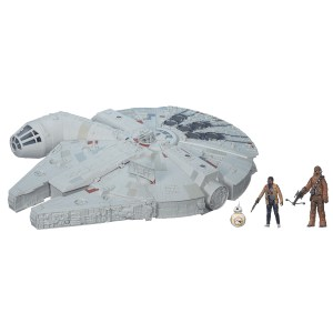 STAR WARS TFA BATTLE ACTION MILLENNIUM FALCON