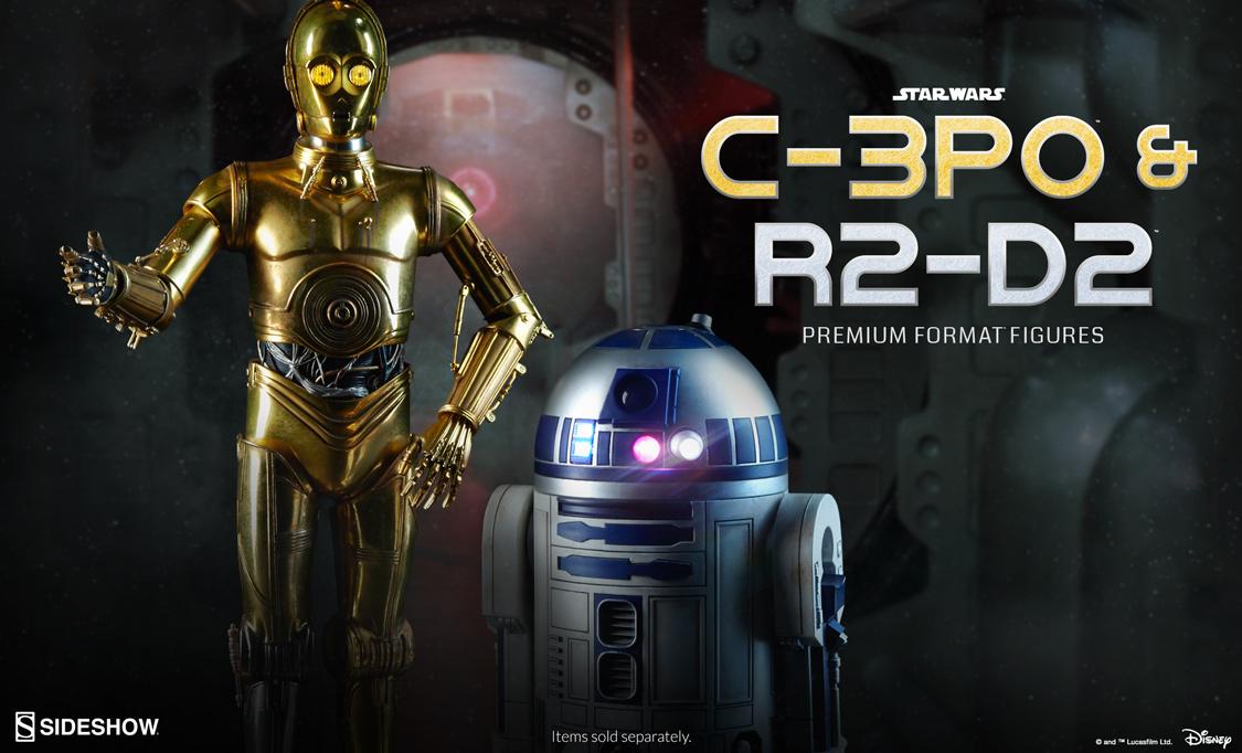 Star Wars C-3PO & R2-D2 Premium Format Figures