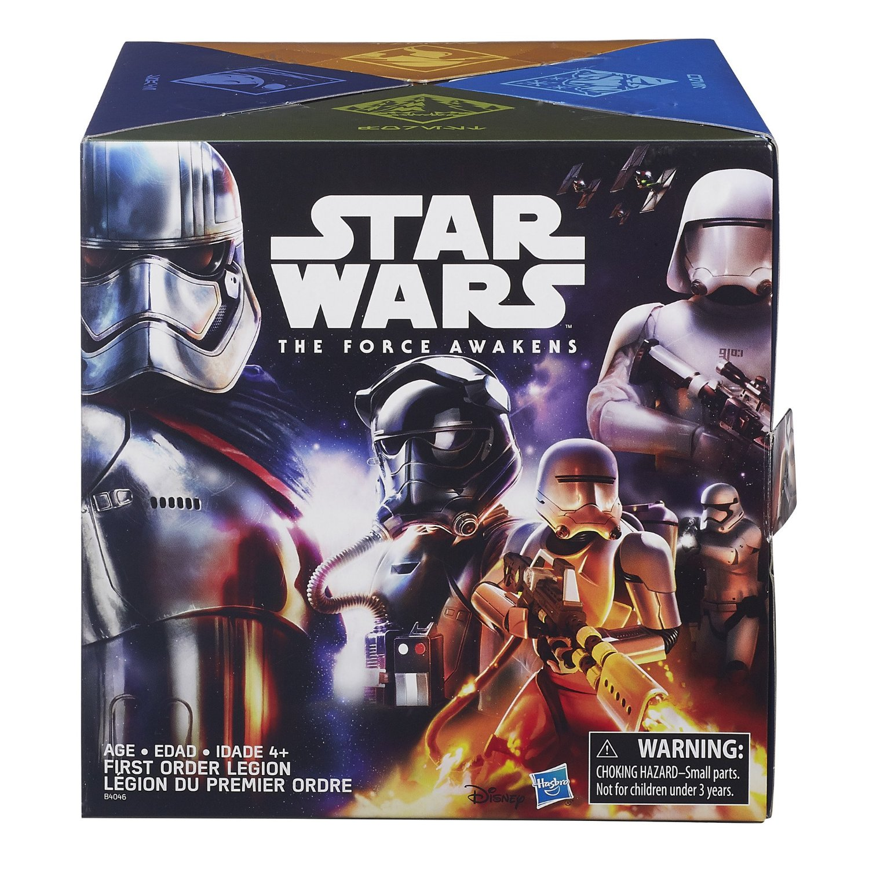 Star Wars The Force Awakens Rey vs Kylo Ren Poe vs Tie Fighter Pilot /& Finn vs