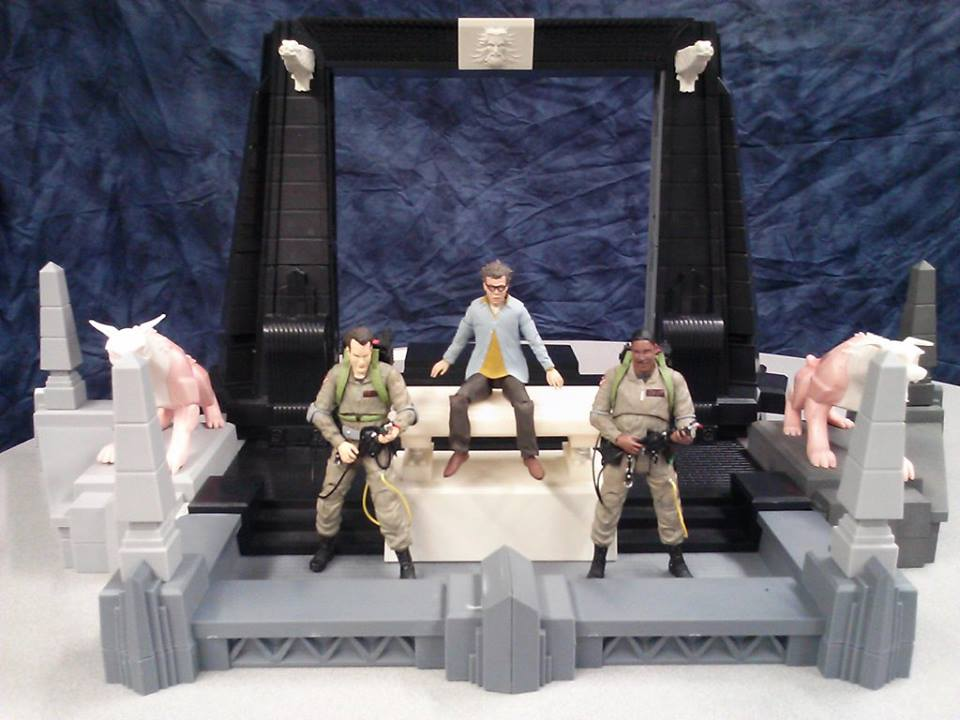 Ghostbusters Select Rooftop Diorama