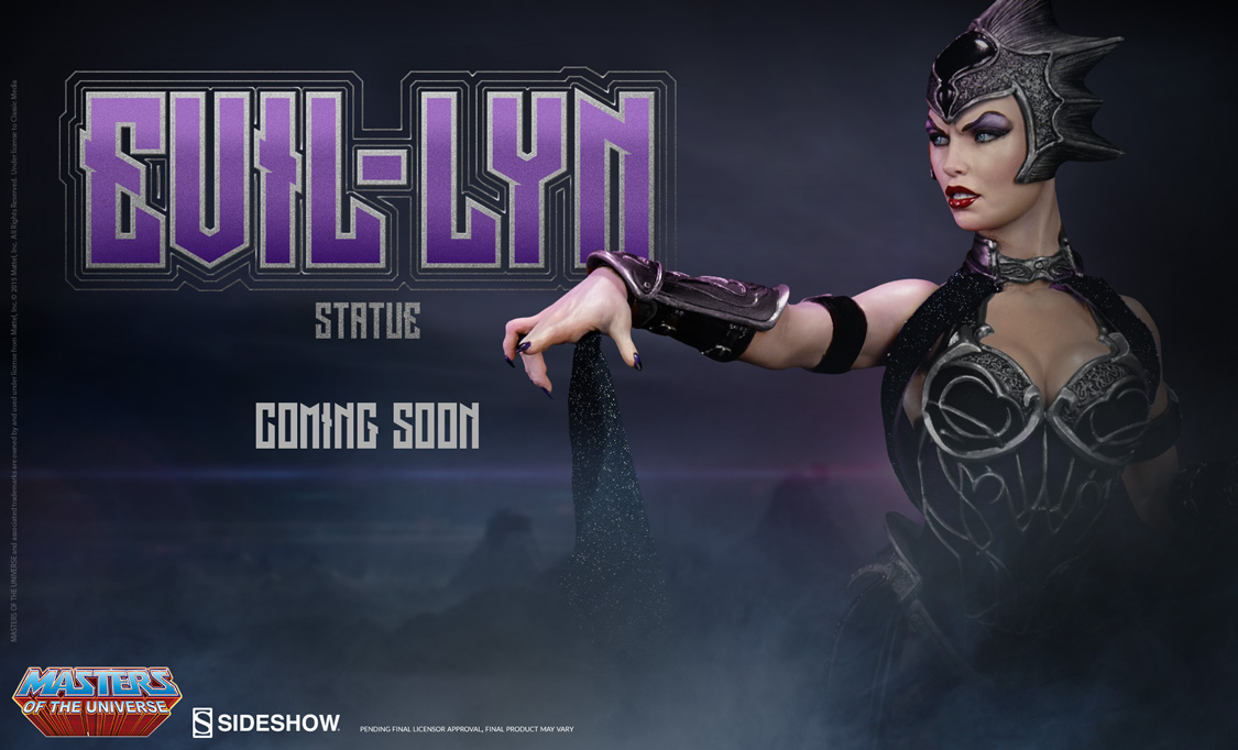 Evil-Lyn Statue Preview