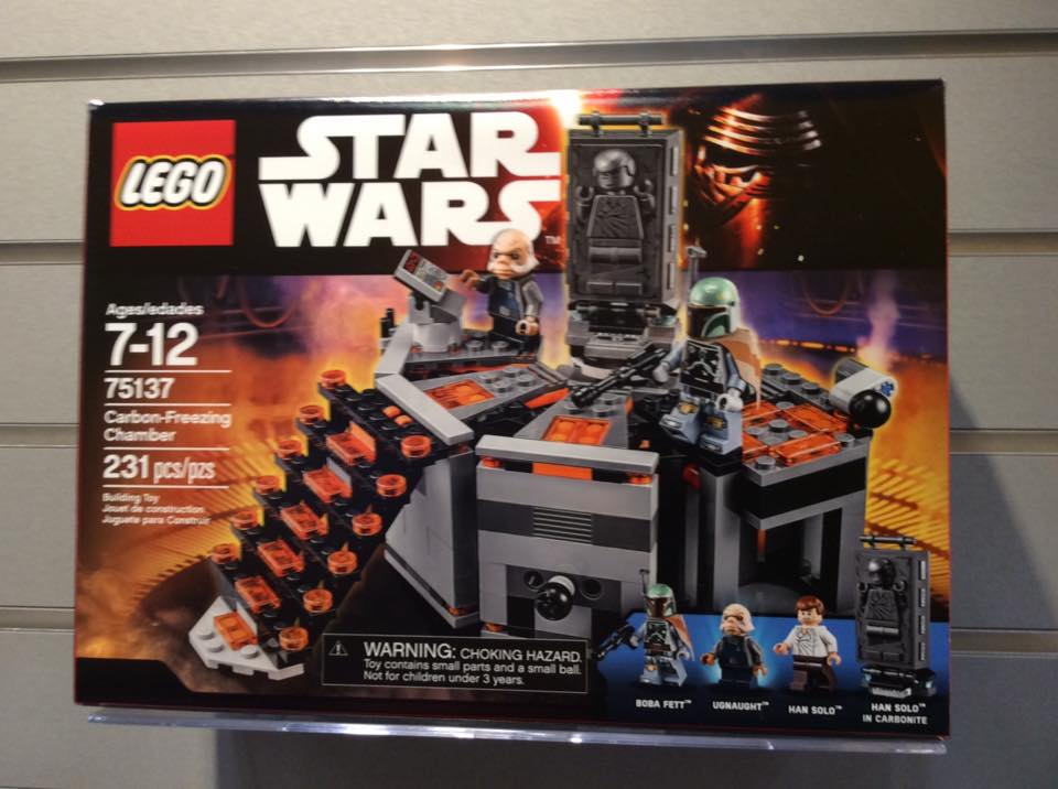 Toy Fair 2016 Star Wars Lego