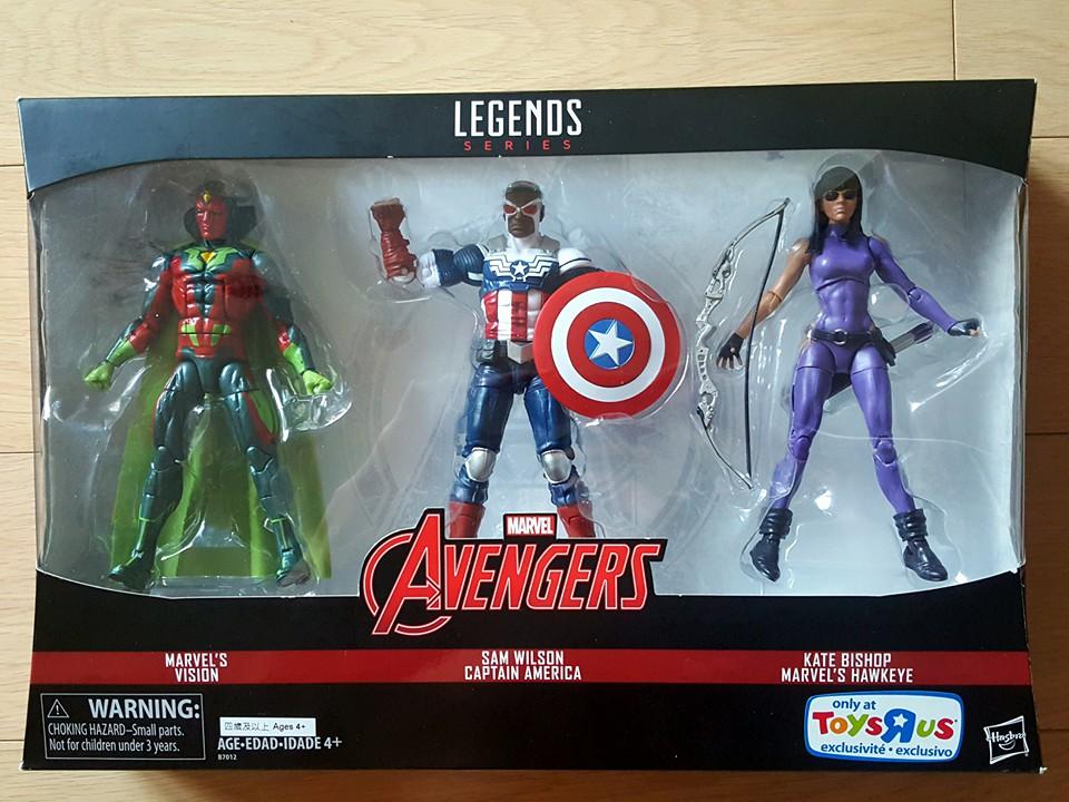 TRU Avengers Legends 3 Pack