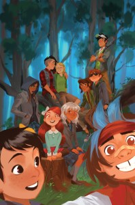 Lumberjanes and Gotham Academy