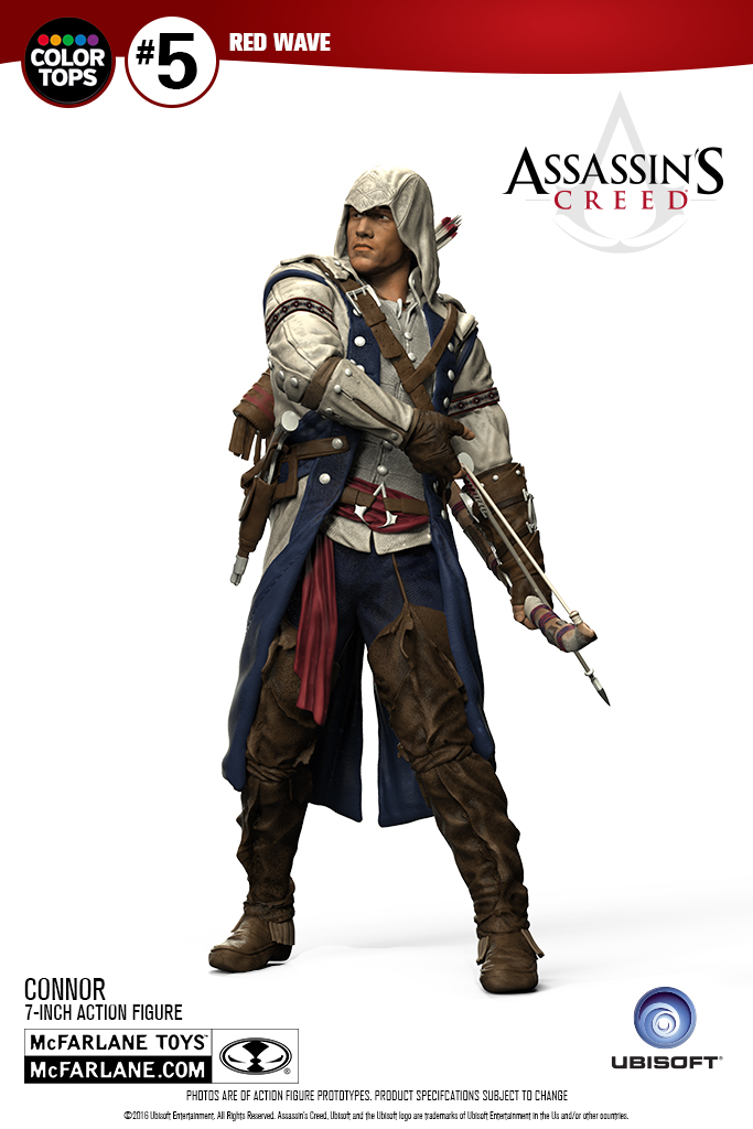 Assassin's Creed III Connor Color Tops Figure