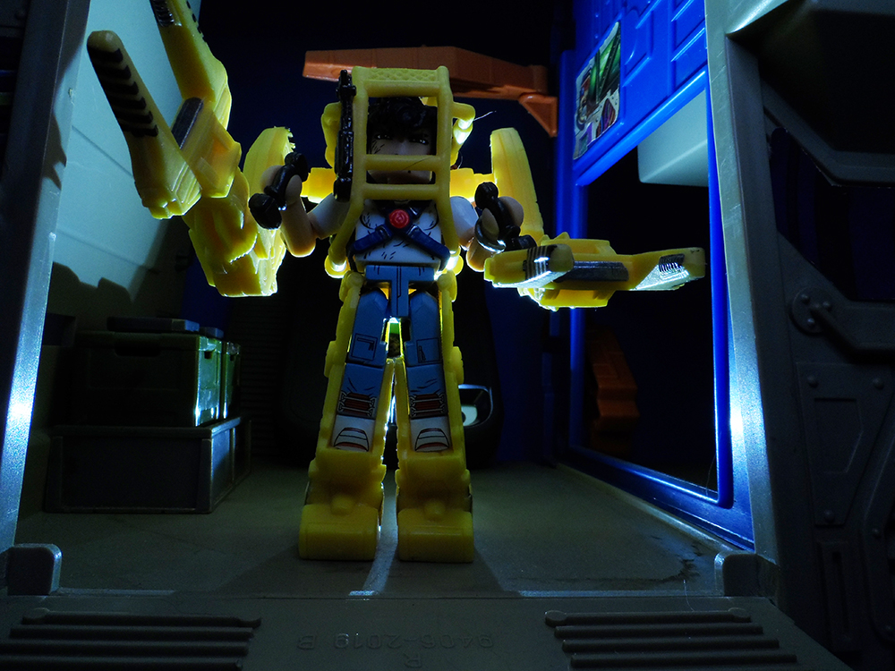 Aliens Minimates Deluxe Power Loader Review