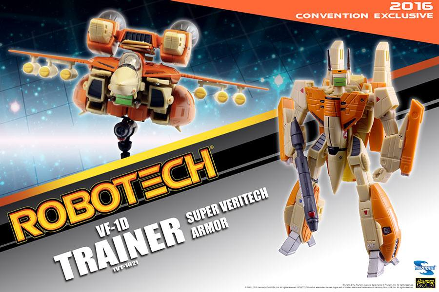 Toynami SDCC Exclusive Robotech VF-D Trainer