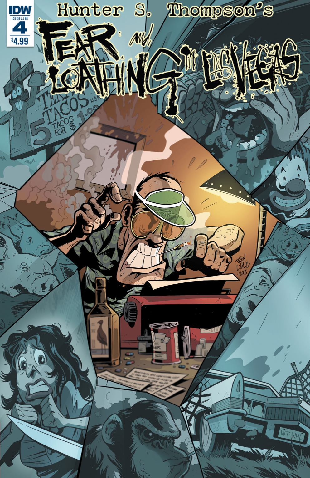Fear And Loathing In Las Vegas #4 – Preview
