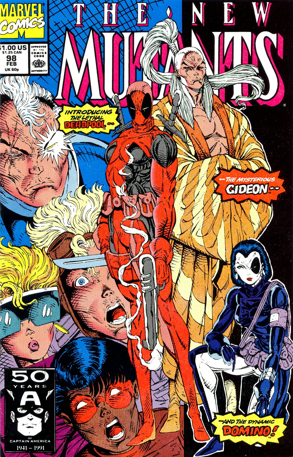 New Mutants #98 (First Appearance of Deadpool) – Reviews Of Old Comics