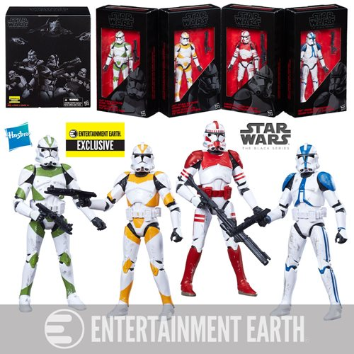 Star Wars Black Series Astromech Droid 6-pack EE Entertainment Earth Exclusive