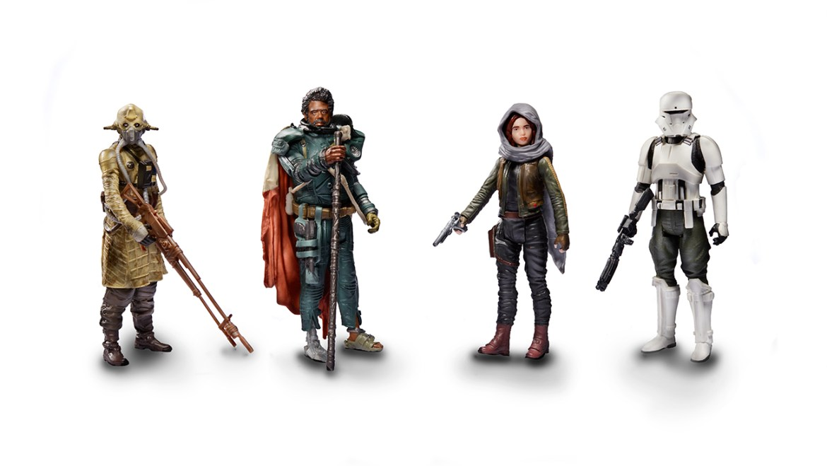"""Rogue One A Star Wars Story  """"Jedha"""" Figure Pack"""
