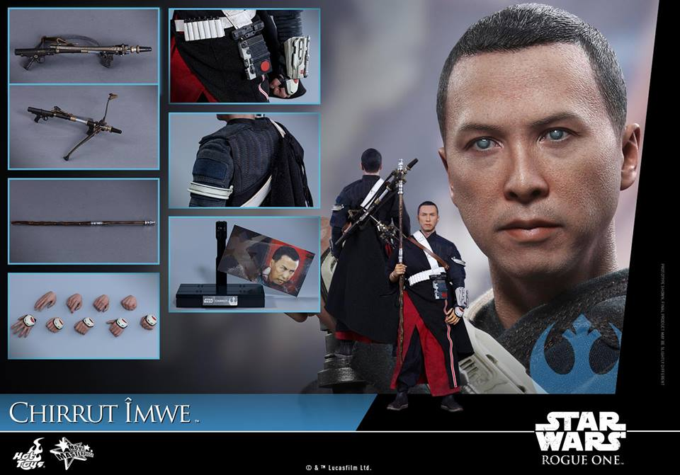 Rogue One – 1/6th scale Chirrut Îmwe Hot Toy