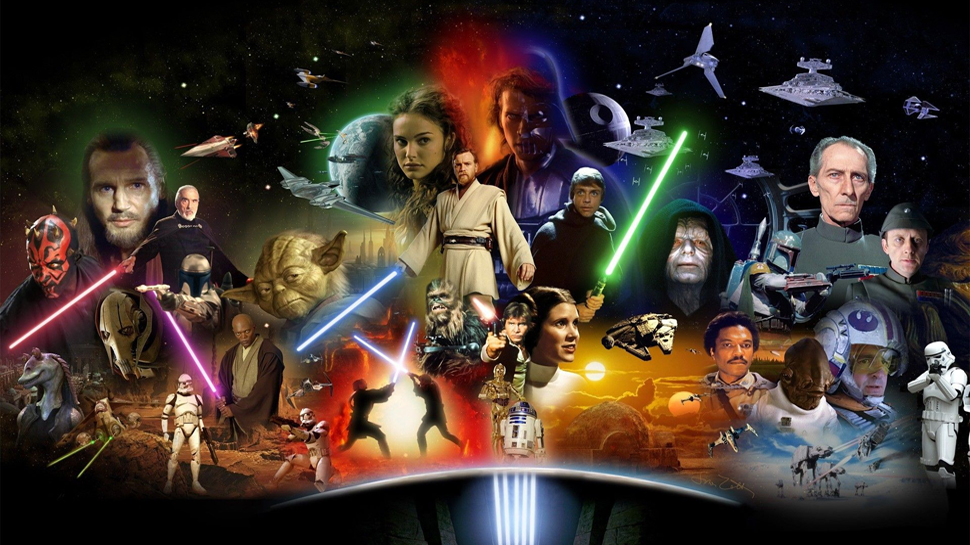 Celebrating Star Wars….ALL December Long!!