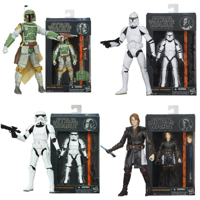 Star Wars Black, The New Norm in Action Figures