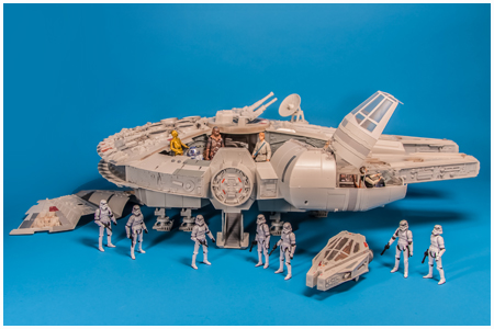 The Crowning Jewels of Star Wars Vehicles- AT-AT & BMF Falcon