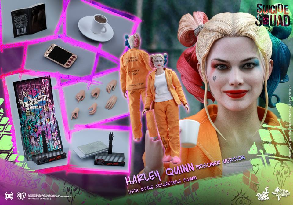 Suicide Squad – 1/6th scale Harley Quinn (Prisoner Version)