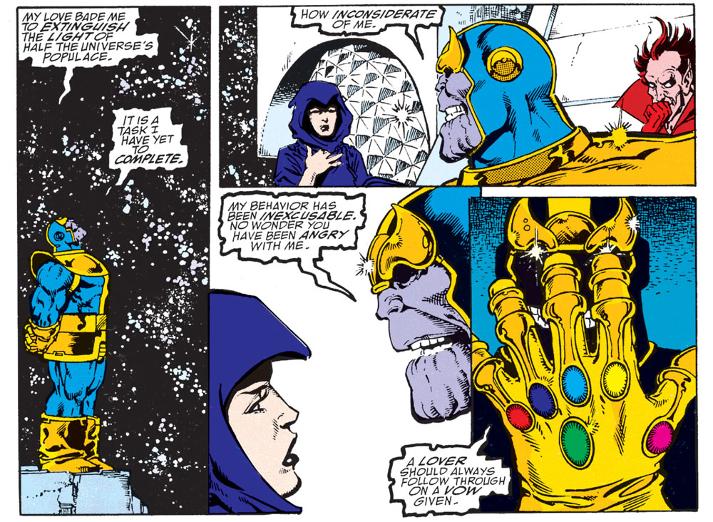 Infinity Gauntlet #1 – Reviews Of Old Comics