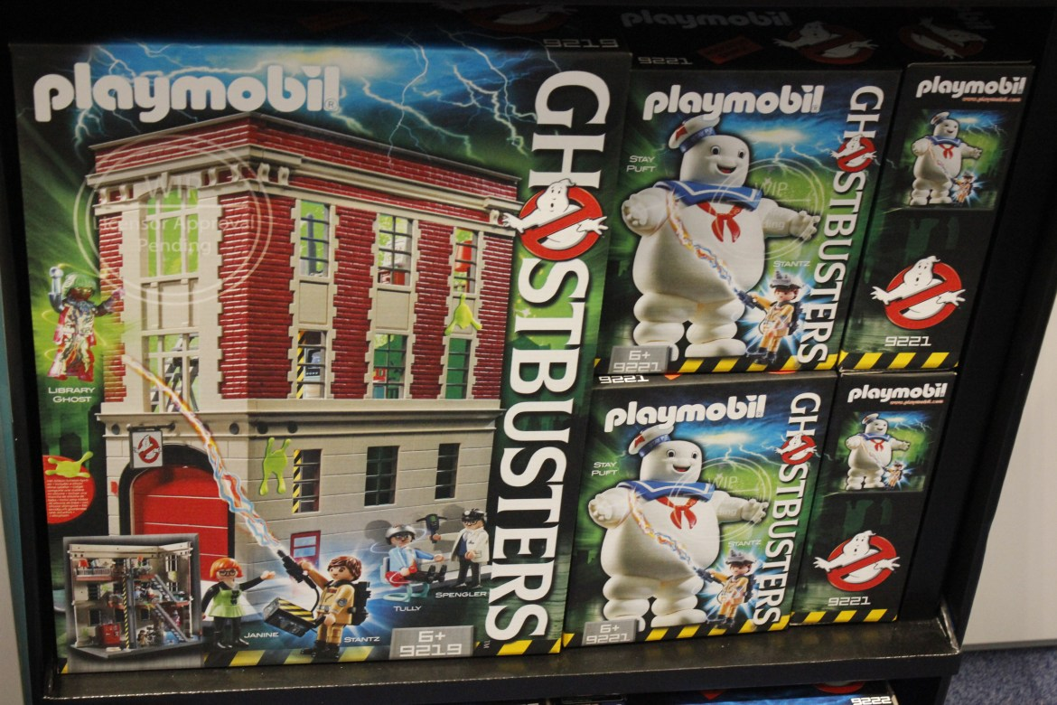NYTF 2017 Playmobil- Ghostbusters and More!