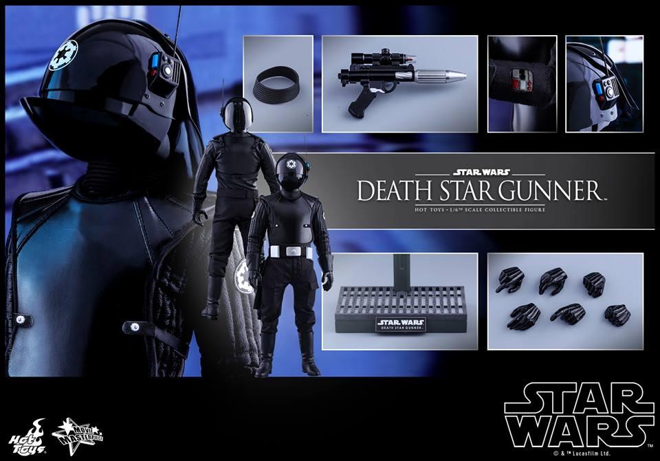 Star Wars – 1/6th scale Death Star Gunner Collectible Figure