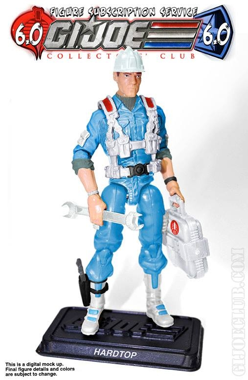 GI Joe FSS 6.0 Update- Hard Top Revealed
