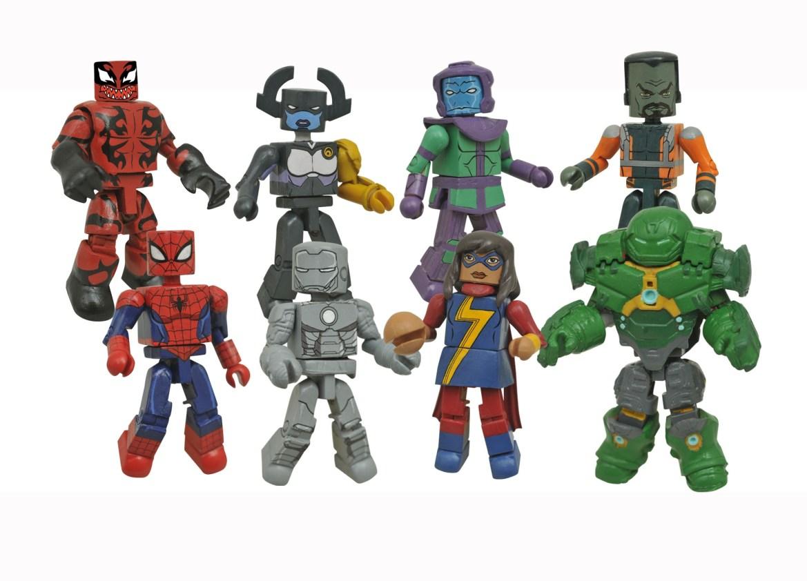 Marvel Animated Minimates Series 5 Revealed