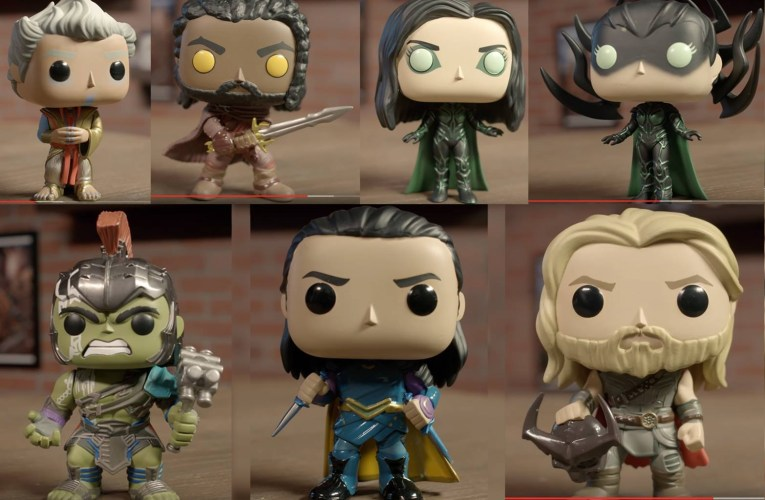 First look at the Thor Ragnarok POP!s
