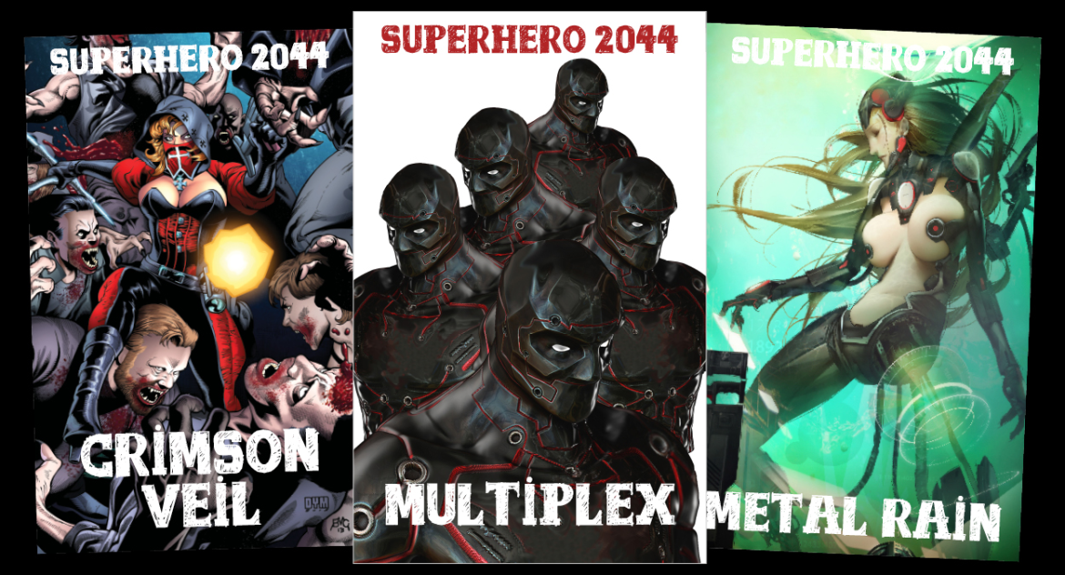 Superhero 2044 RPG Promoting Diversity Ahead Of Kickstarter Launch.