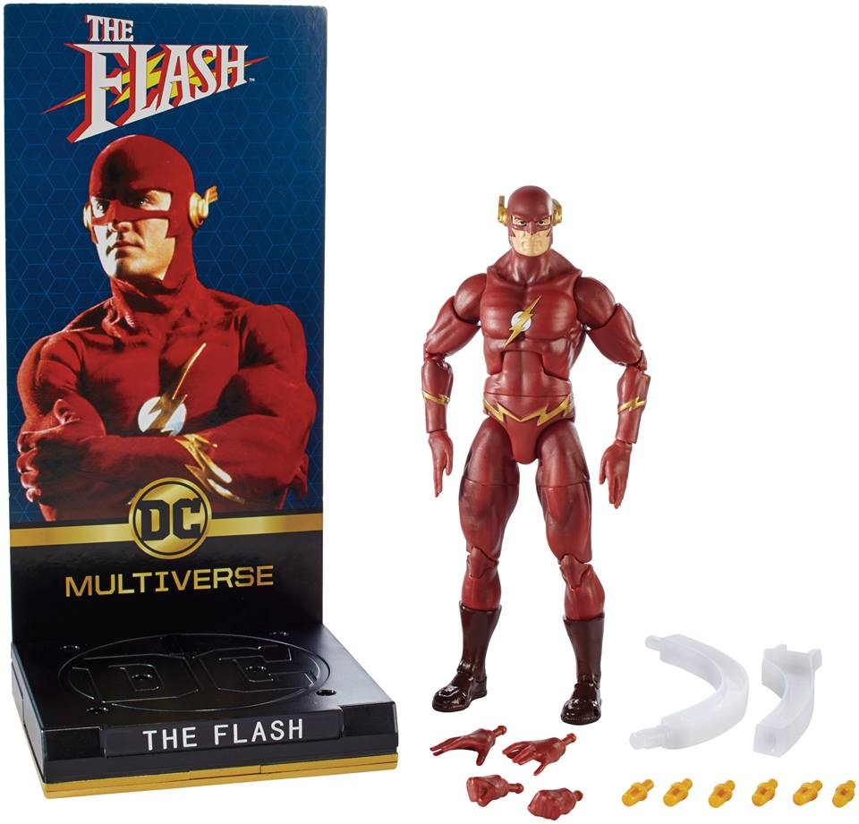 DC Comics Multiverse Signature Collection Flash & Batman Official Images