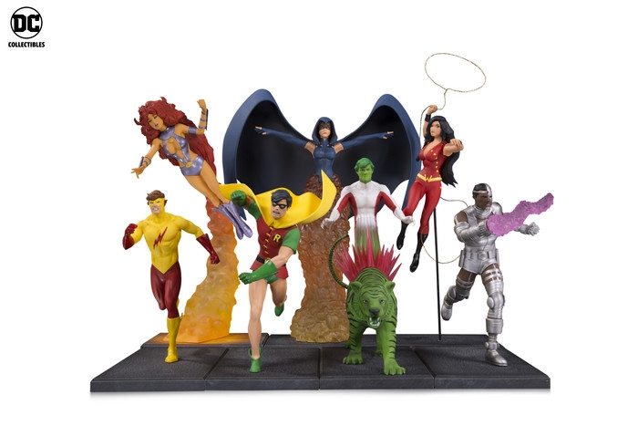 DC Collectibles Announces PVC Statue Line and More for August 2018