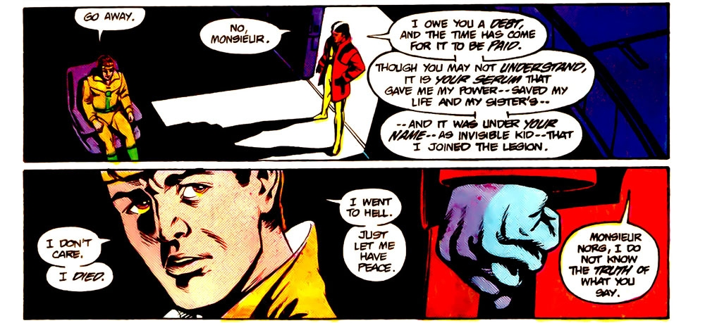 Tales Of The Legion #316 – Reviews of Old Comics
