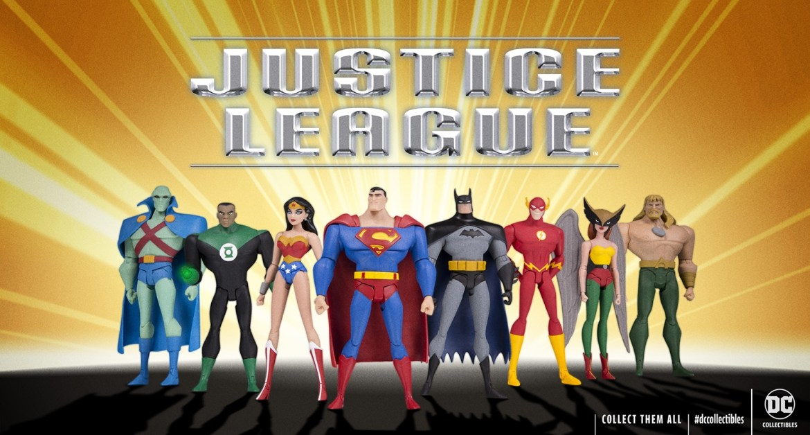 Justice League Animatedaction figures Coming to DC Universe