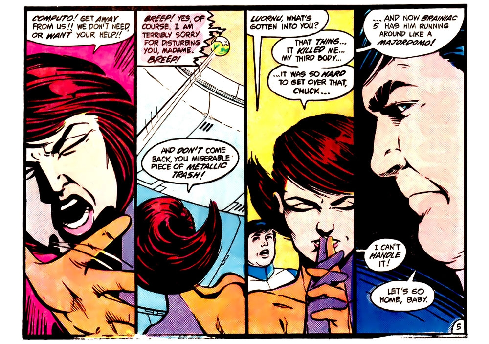 Tales Of The Legion Of Super-Heroes #317 – Reviews Of Old Comics