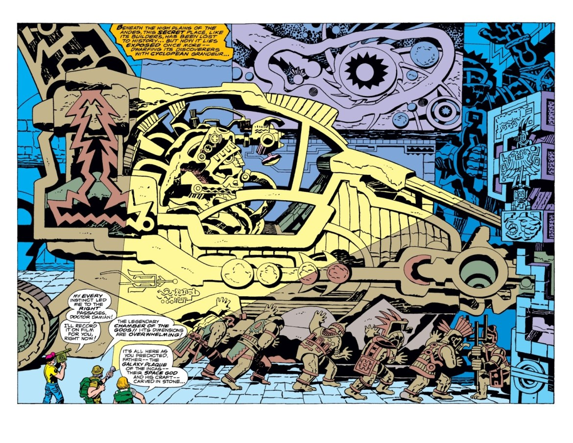 The Eternals #1 – Reviews Of Old Comics