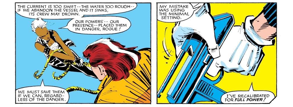 Uncanny X-Men #185 – Reviews Of Old Comics