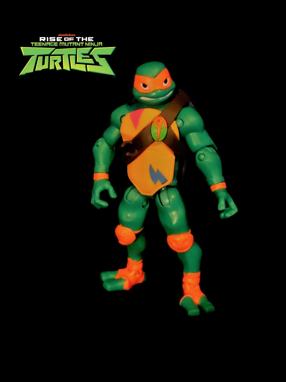 Mikey Action Figure-Rise of the Teenage Mutant Ninja Turtles Teenage Mutant Ninja Turtles
