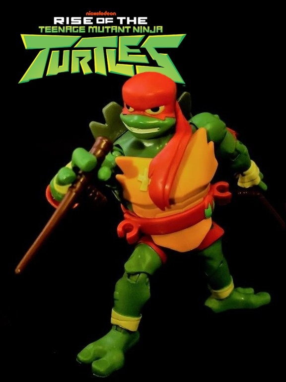 Rise of The Teenage Mutant Ninja Turtles Raphael Review
