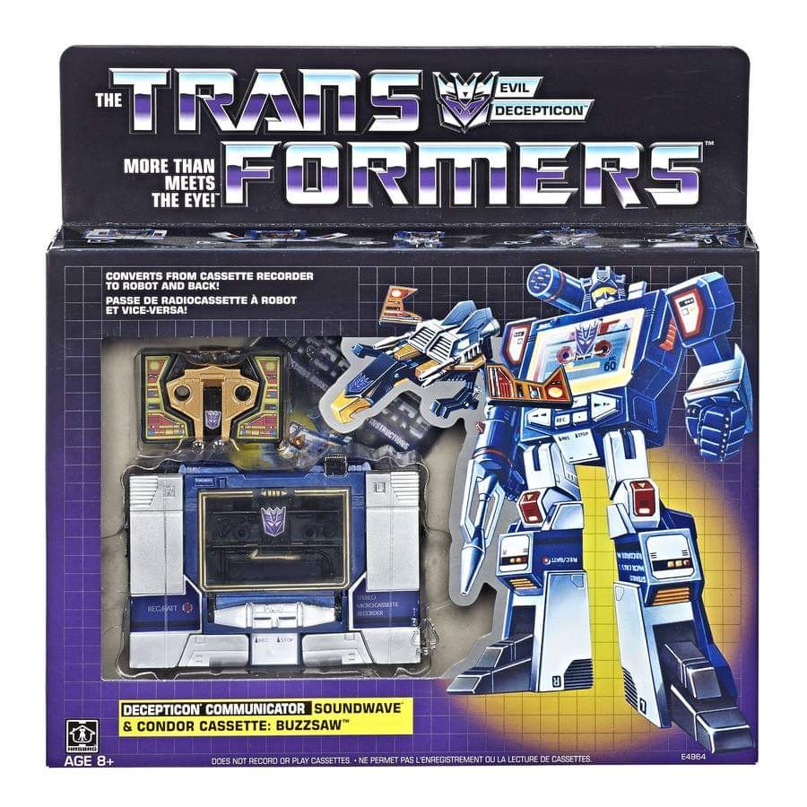 Generation 1 Soundwave Revealed