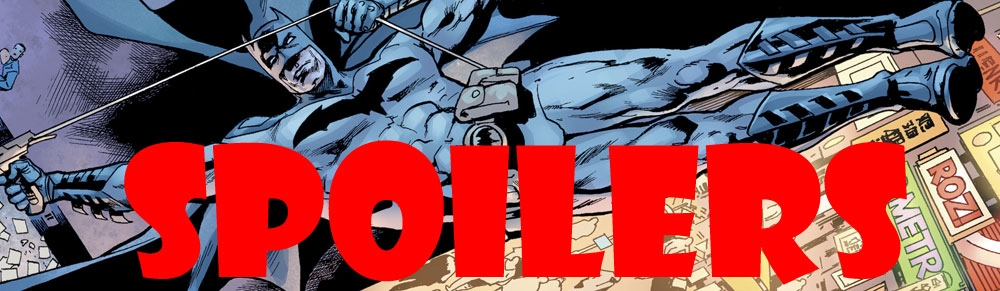 The Batman's Grave #1 – Review