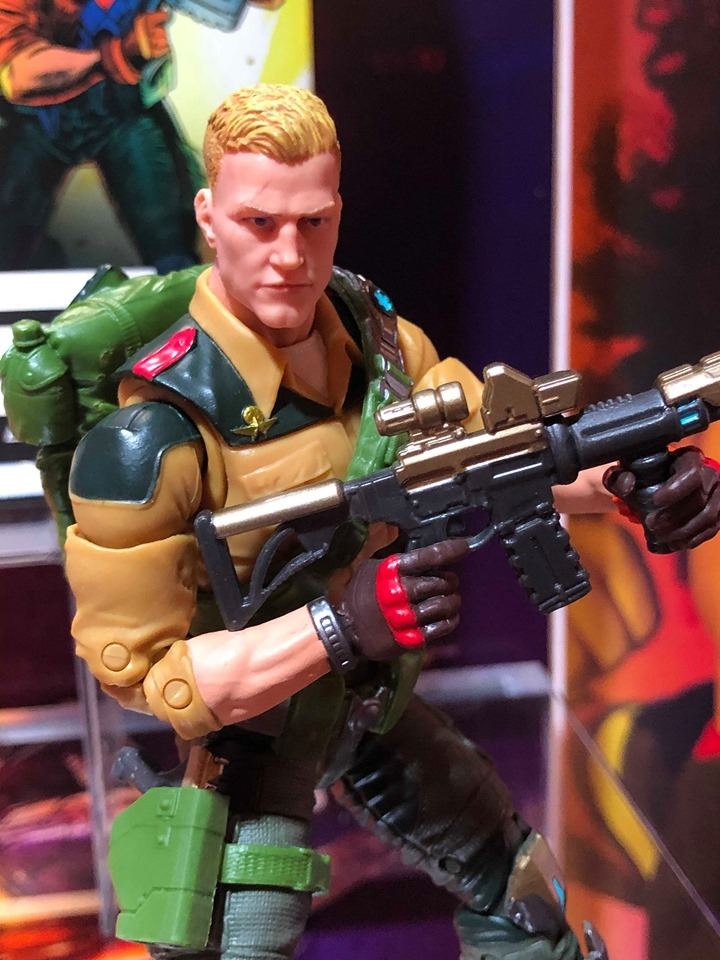 Hasbro GI Joe Showroom- Toy Fair 2020