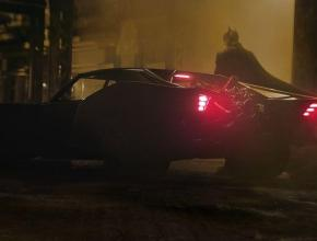 Side View of Batmobile